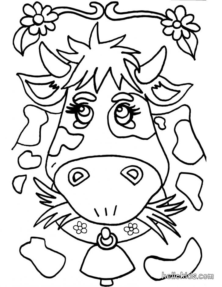 728x941 Adult ~ Baby Farm Animal Coloring Pages Only Drawings Baby