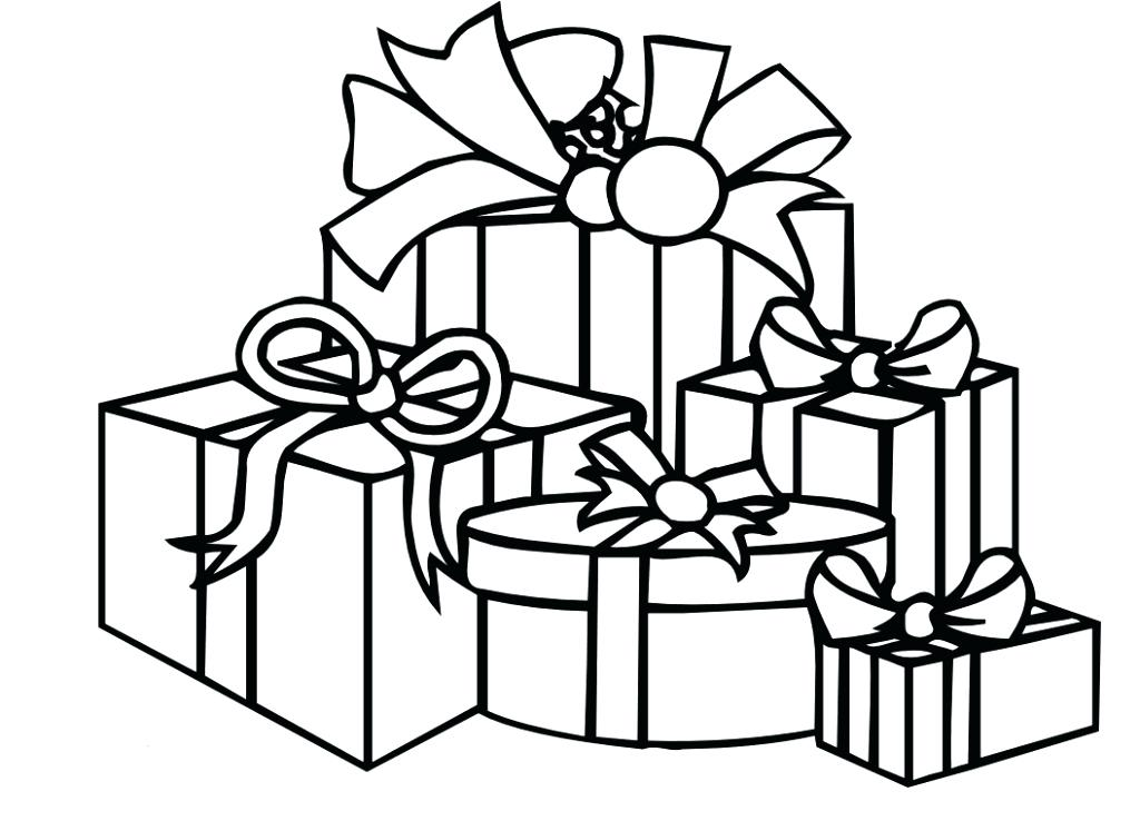 1024x738 Gifts Coloring Pages X Birthday Gifts Coloring Pages