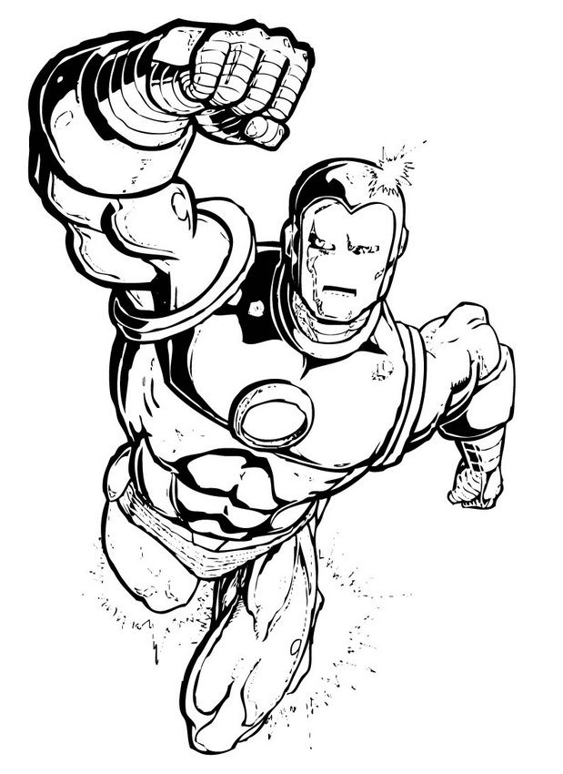 619x850 Color Superheroes Best Of X Men Superheroes Coloring Pages