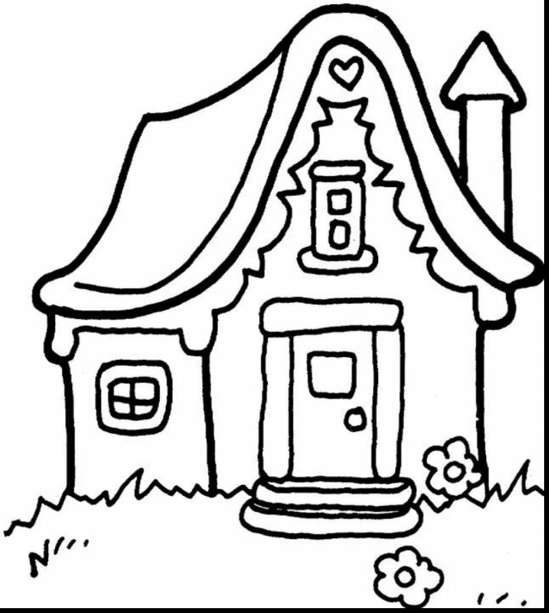 1126x1258 Modern Ideas House Coloring Pages Top 20 Free Printable Youtube