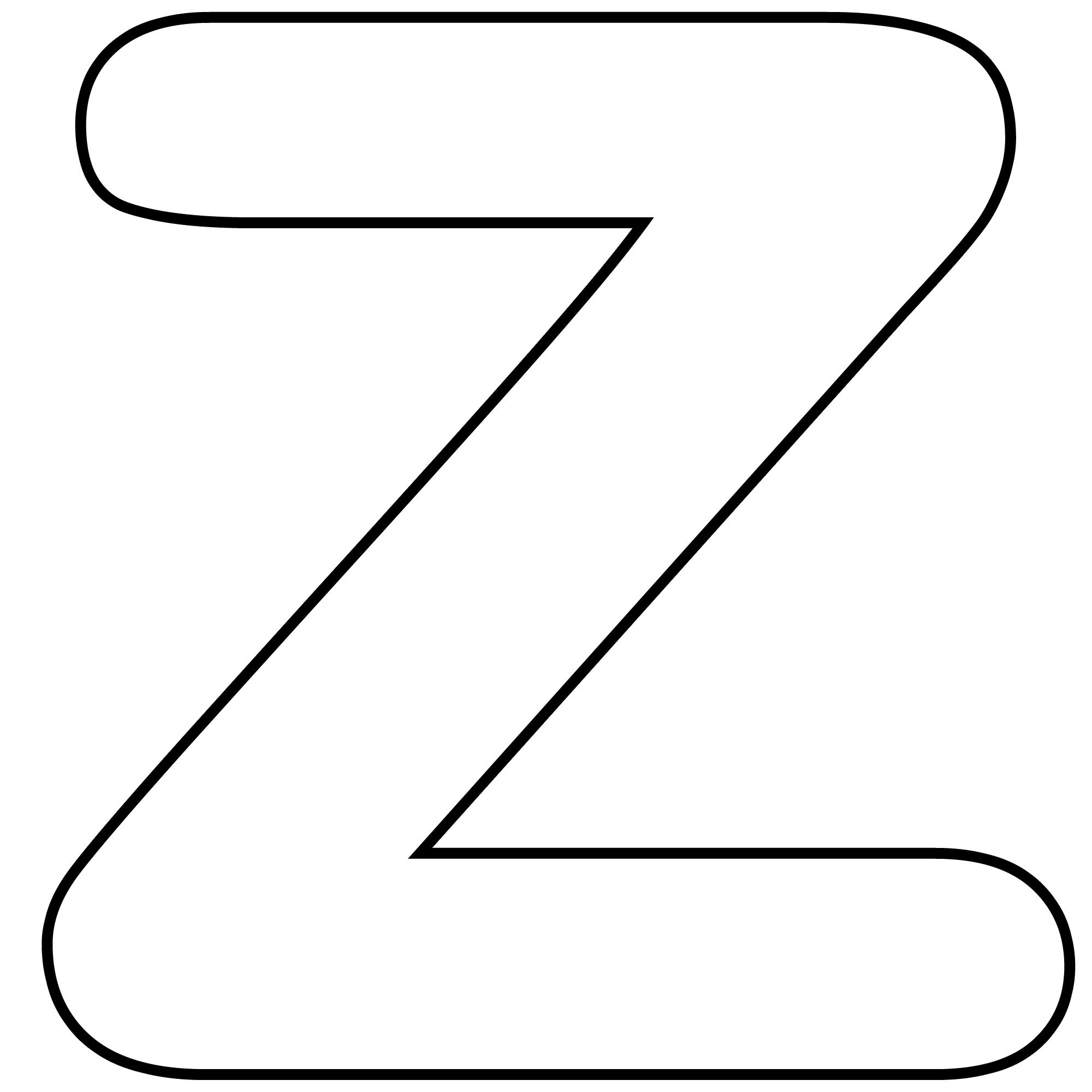 2000x2000 Letter Z