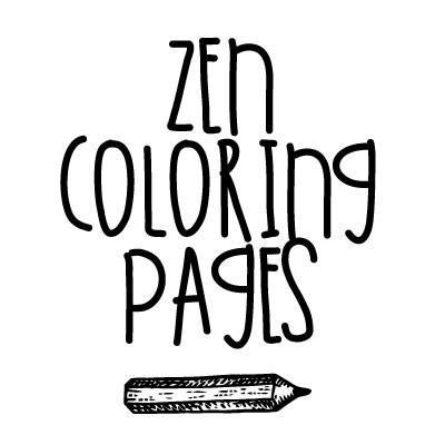 400x400 Zen Coloring Pages (@zencoloringpage) Twitter