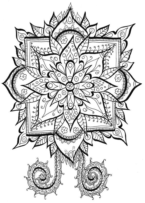 564x789 202 Best Coloring Mandala Images Colouring, Mandala