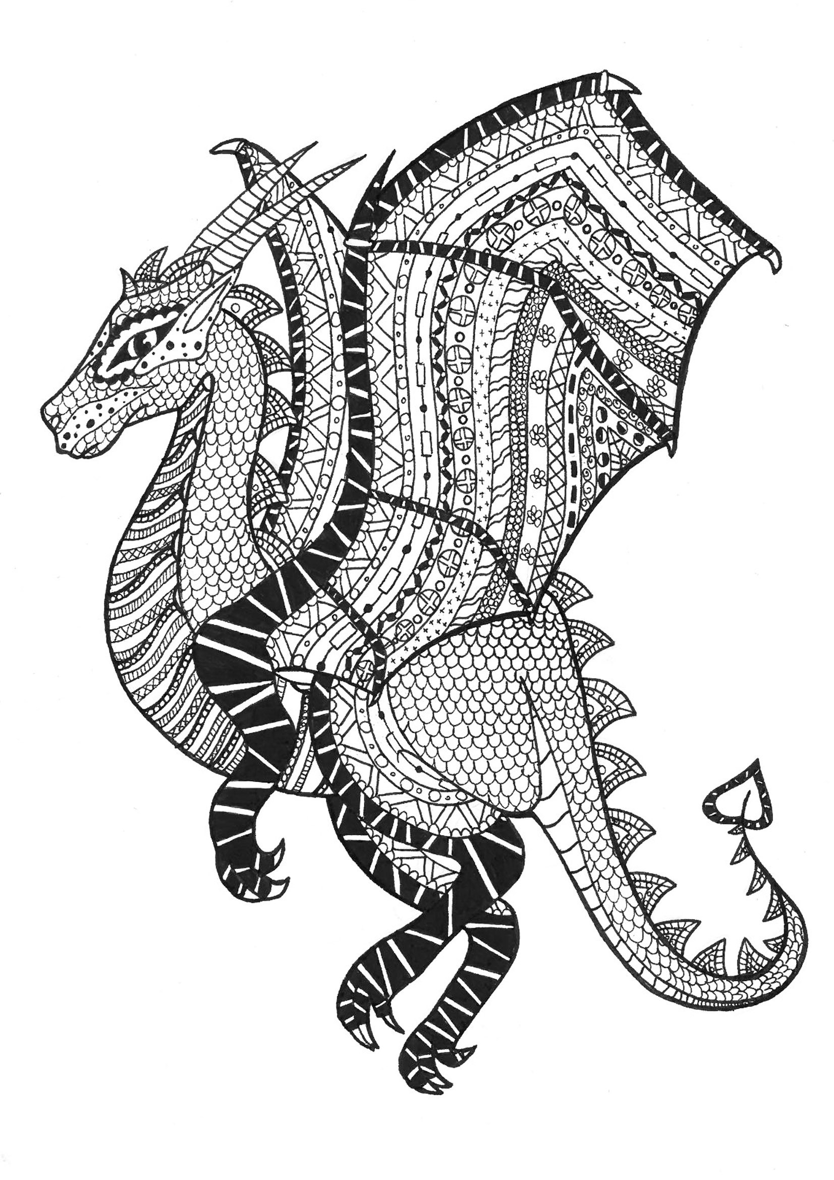 shelly beauchamp zen tangles coloring pages | Coloring Pages Zentangle | Free download best Coloring ...