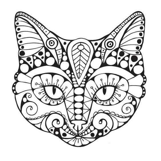 564x564 88 Best Animal Zentangle Coloring Pages Images