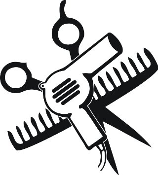 Comb And Scissors Clipart