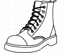 210x180 Boots Clipart Work Boot
