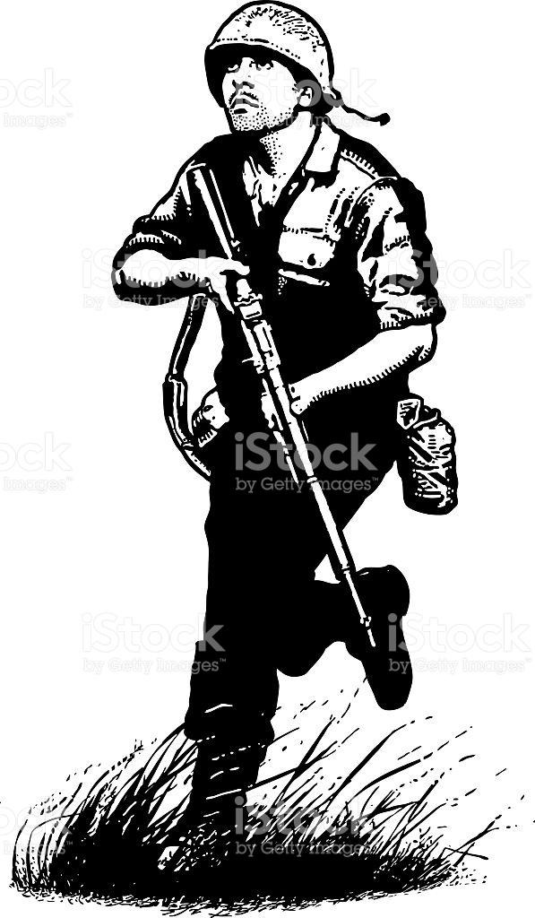 597x1024 Soldiers Clipart Combat