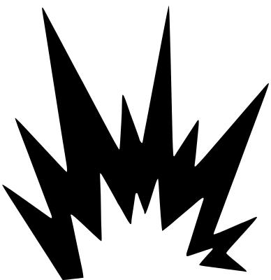 388x400 Comic Book Explosion Clipart Clipartcow 2 Image