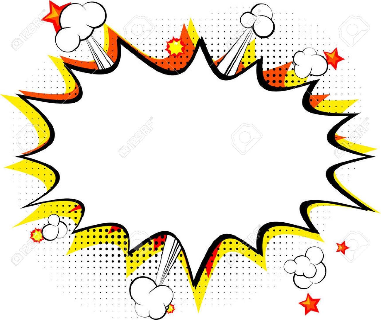 1300x1091 Comics Clipart Explosion