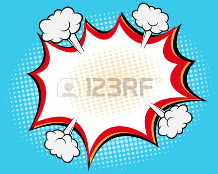 450x360 Speech Bubble Pop Art,comic Book Background Vector Illustration