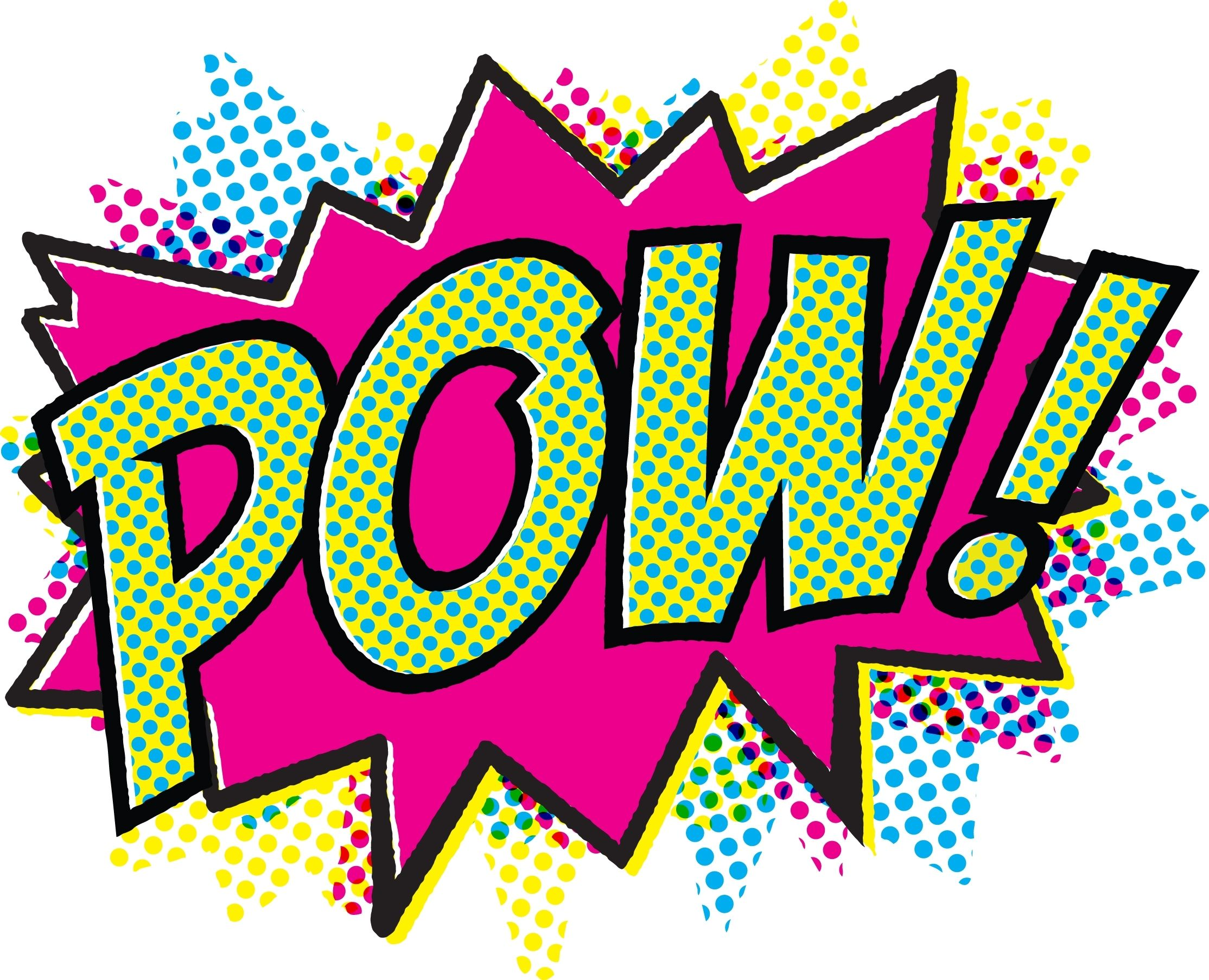 2228x1806 Retro Comic Art Pow Retro Comic Book, Lets Get This Party