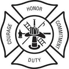 225x225 Fire Department Maltese Cross Vector Fire Safty