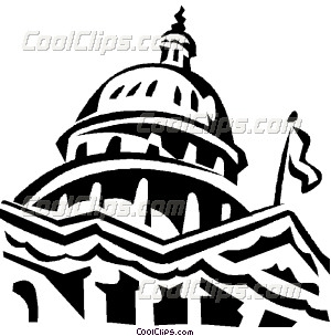 300x304 Capitol Building In Washington Vector Clip Art