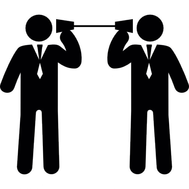 626x626 Businessmen Business Communication Techniques Icons Free Download