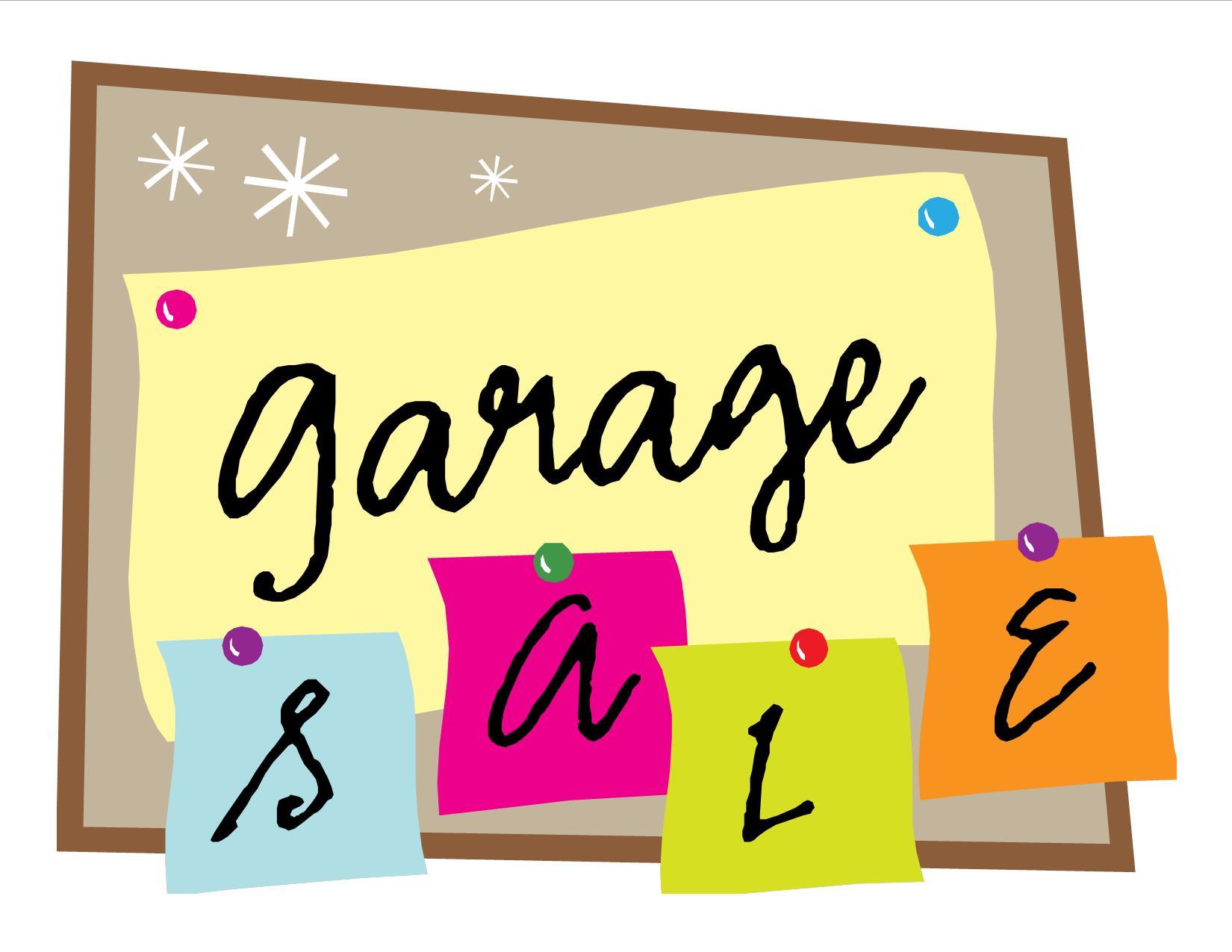 1650x1275 Clipart Garage Sale Signs