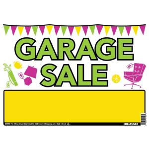 300x300 The Hillman Group 14 In. X 18 In. Corrugated Plastic Blank Sign