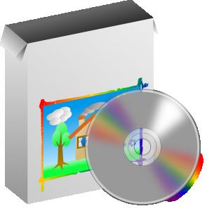 295x300 Compact Disc Clip Art Download