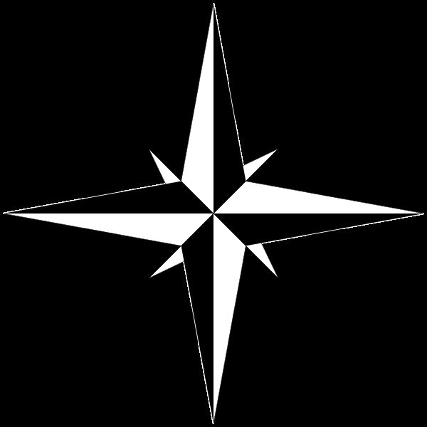 600x600 Compass Clip Art Black And White Danaami2 Top