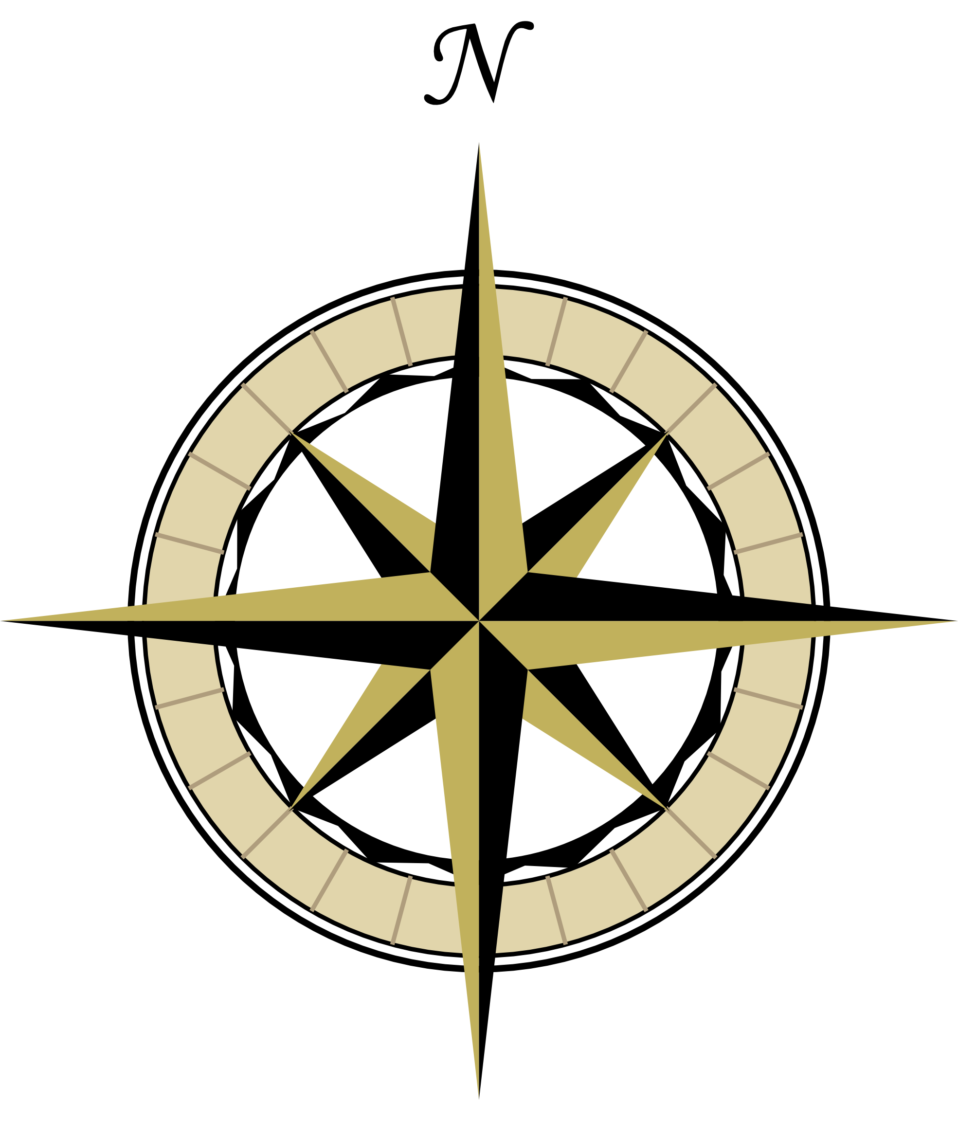 1969x2304 Compass Clipart