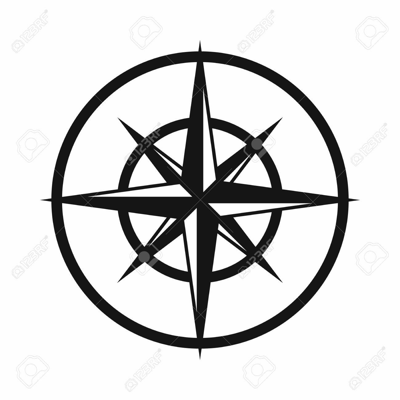 1300x1300 Compass Clipart Cardinal Direction