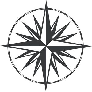 300x300 Compass Clip Art