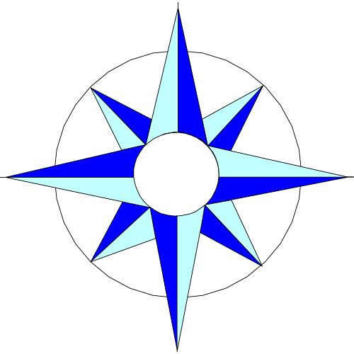 500x500 Compass Clip Art