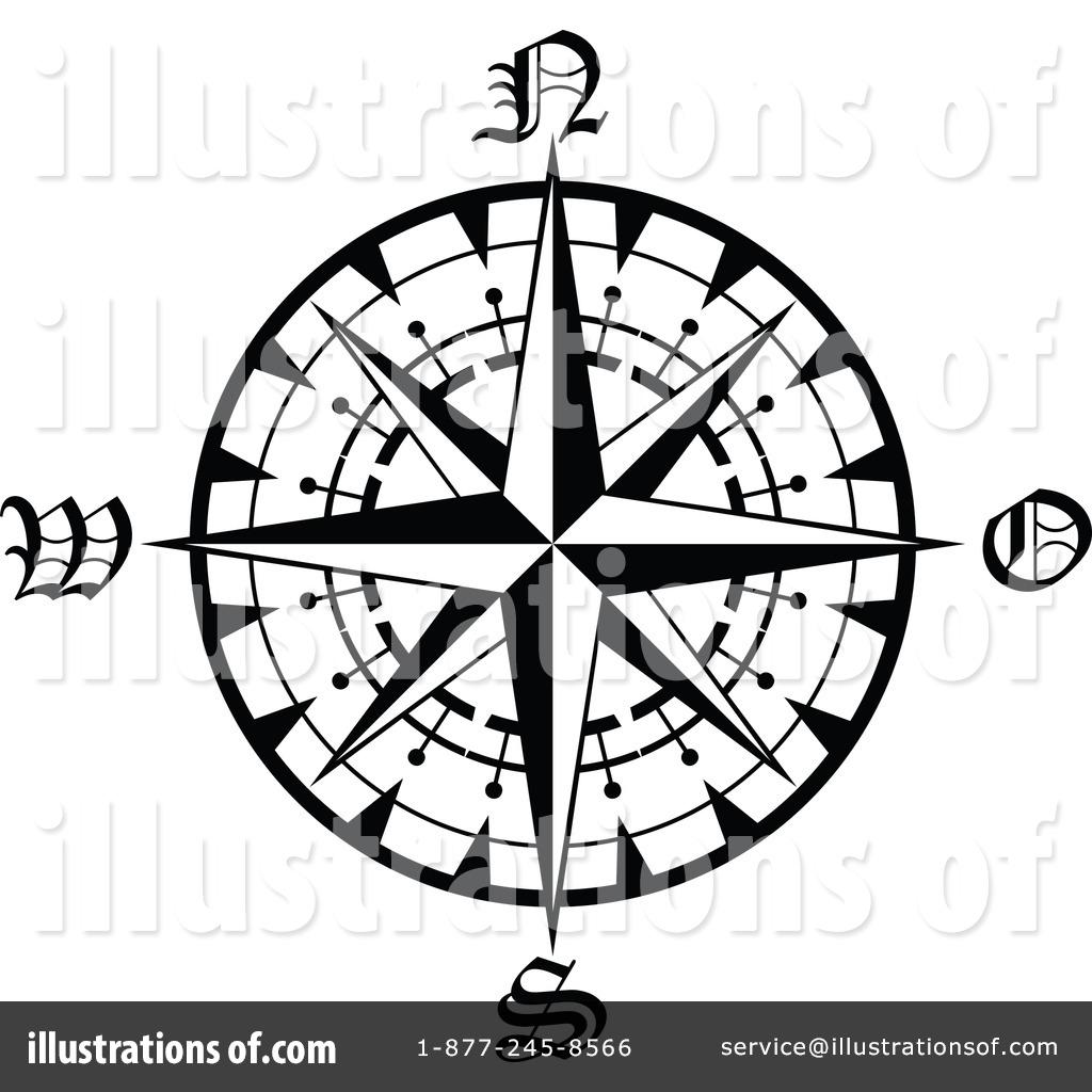 1024x1024 Compass Clipart