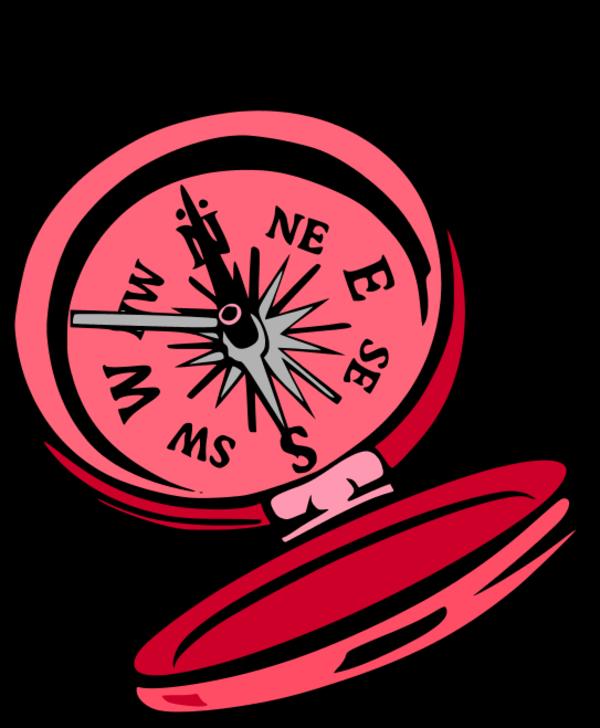 600x728 Compass Clip Art Free Download Vector Image Clipartix