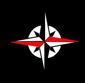 298x291 West Clipart Compass Clip Art Black White