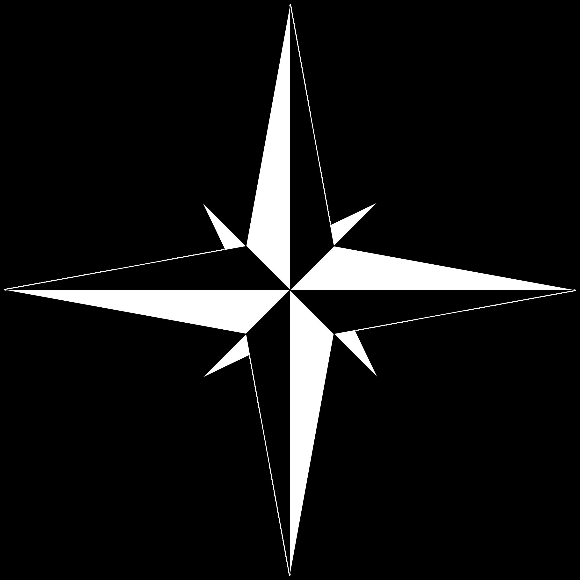 2400x2400 Simple Compass Clip Art , Clipart Panda