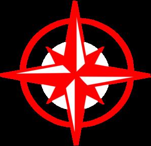 298x288 Red Compass 4 Clip Art