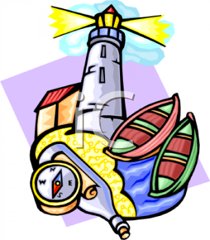 306x350 Royalty Free Lighthouse Clip Art, Buildings Clipart