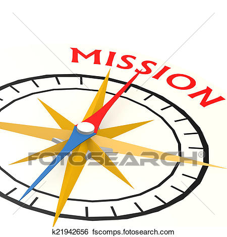450x470 Stock Images Of Compass With Mission Word K21942656