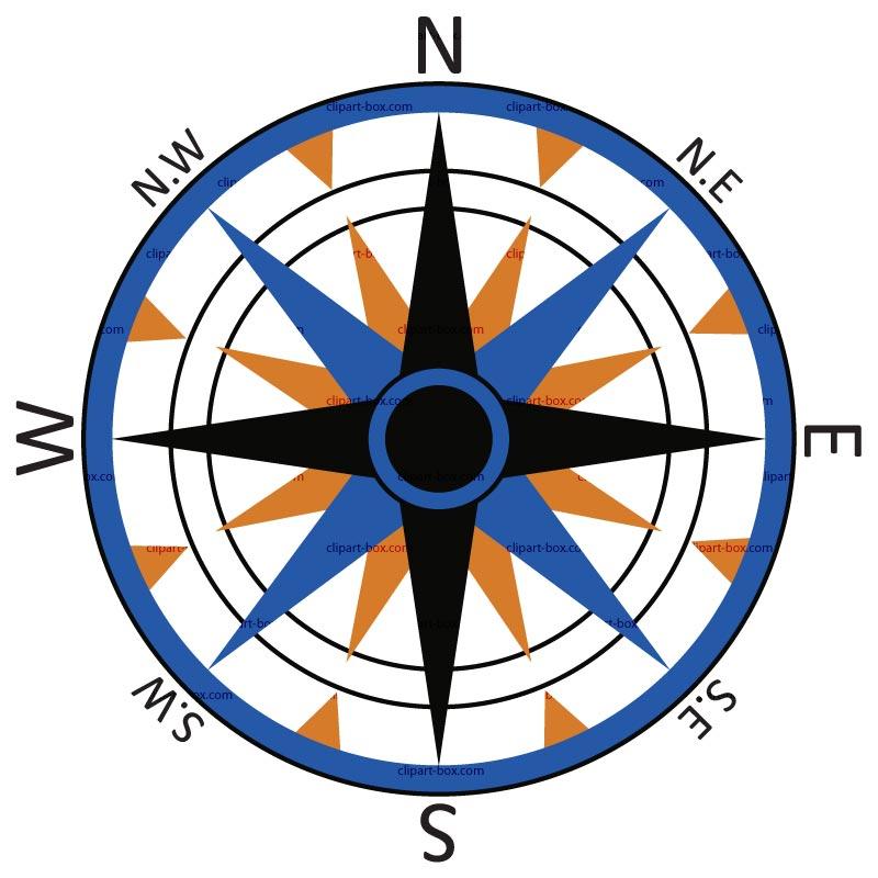 800x800 Compass Clip Art