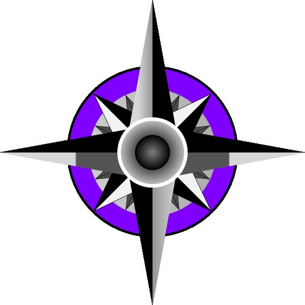 600x600 Compass Blue Rose Clip Art