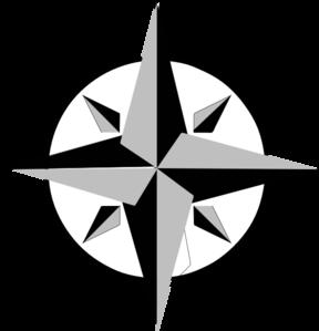 288x299 Compass Rose Clip Art