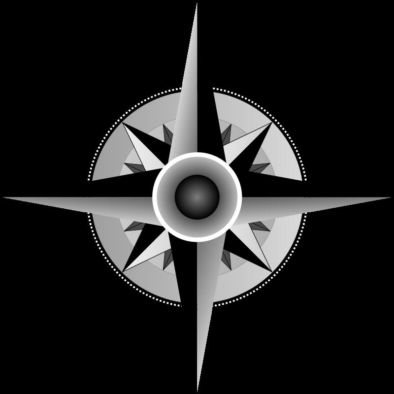 800x800 Compass Vector Art Clipart