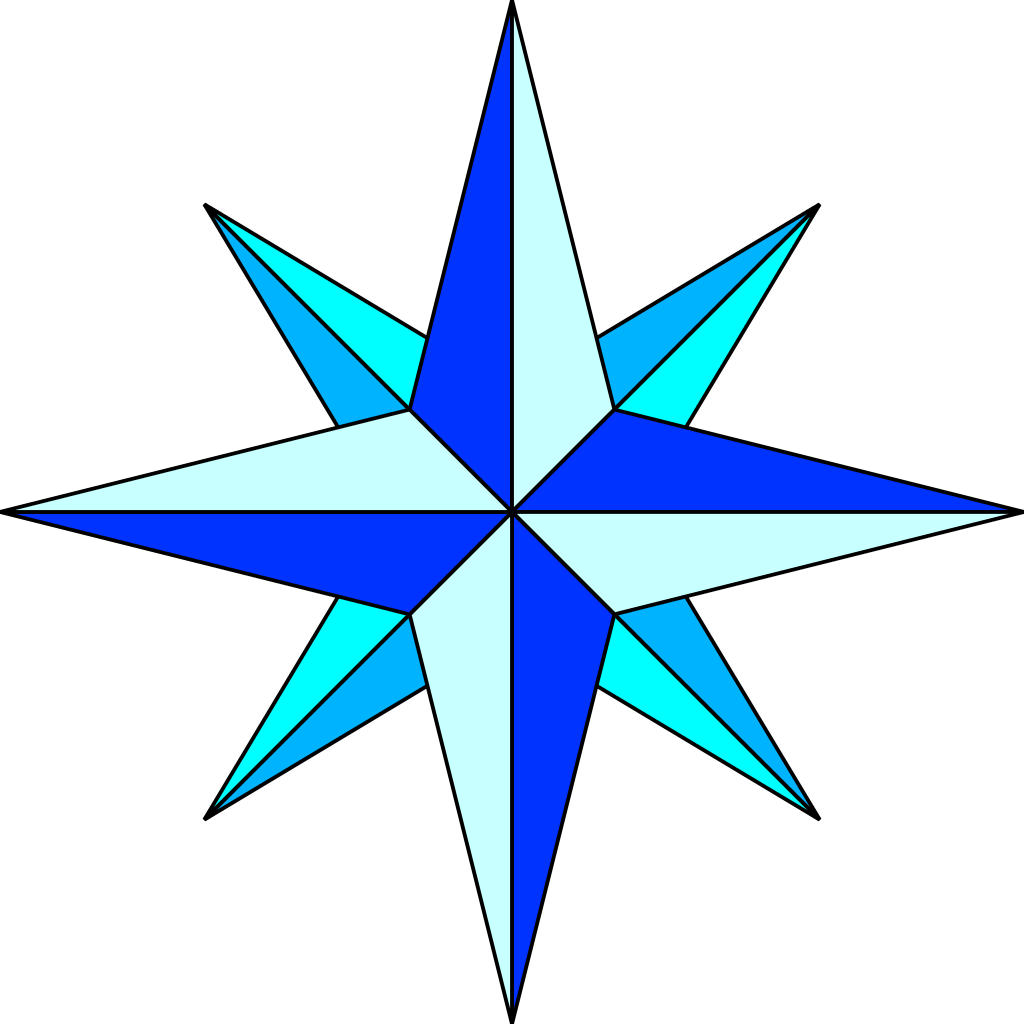 1024x1024 Filecompass Rose Simple Plain.svg