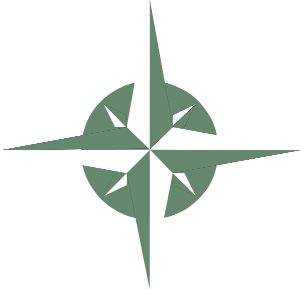 600x577 White Compass Rose Png, Svg Clip Art For Web