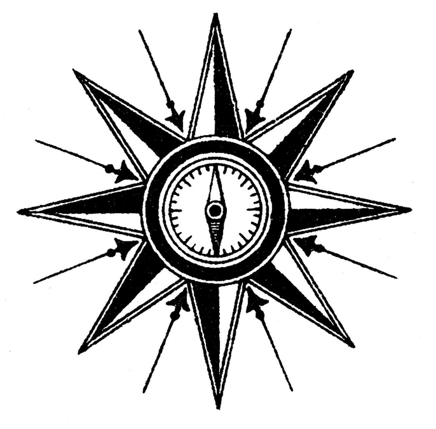 1425x1404 Clip Art Compass Pictures Clip Art
