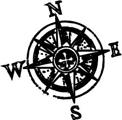 250x245 Compass Rose Cliparts