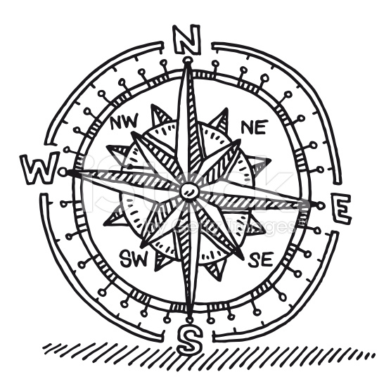 556x556 Compass Rose Drawing Royalty Free Stock Vector Art Tattoo