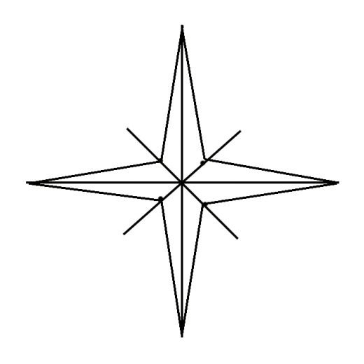 520x520 Drawing A Compass Rose Hubpages