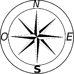 250x250 Free Pictures Compass Rose