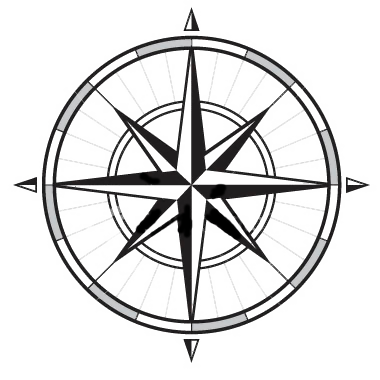 380x380 Blank Compass Rose
