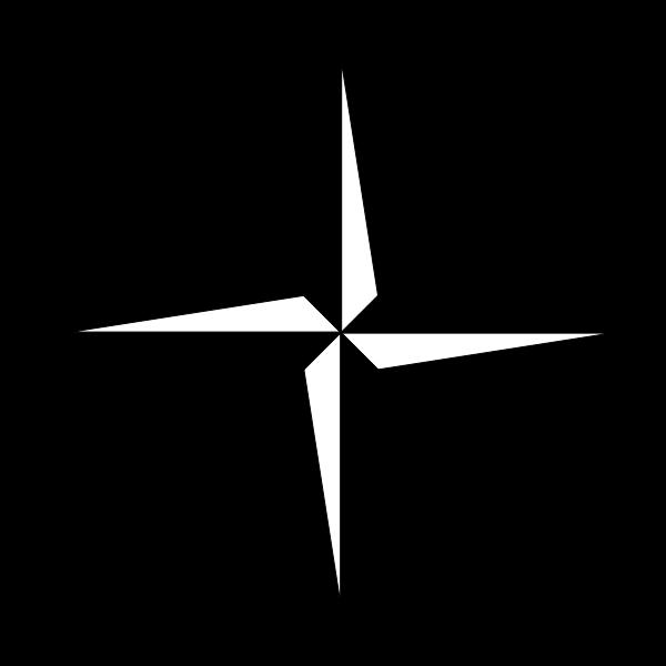 600x600 Filesimple Compass Rose.svg