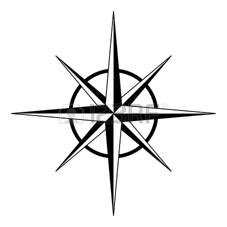450x450 Illustration Of Compass Rose Royalty Free Cliparts, Vectors,