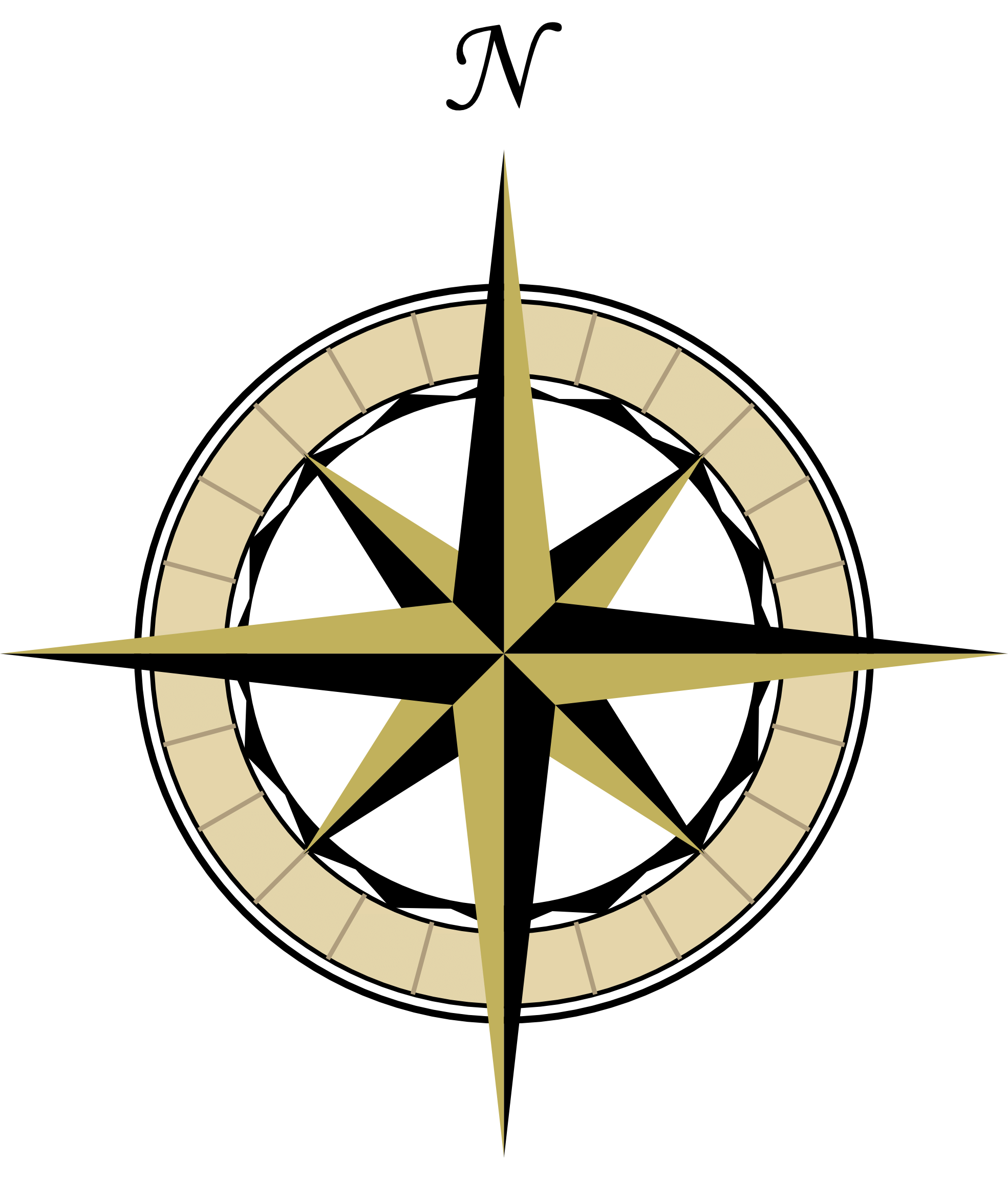 1969x2304 Compass Rose Cliparts