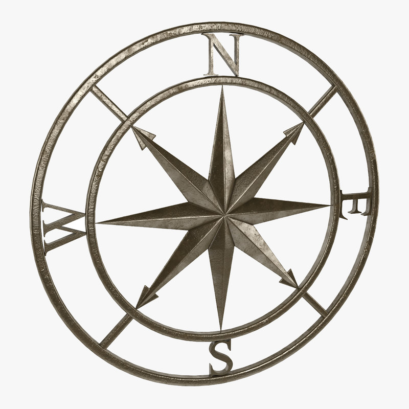 800x800 Max Compass Rose